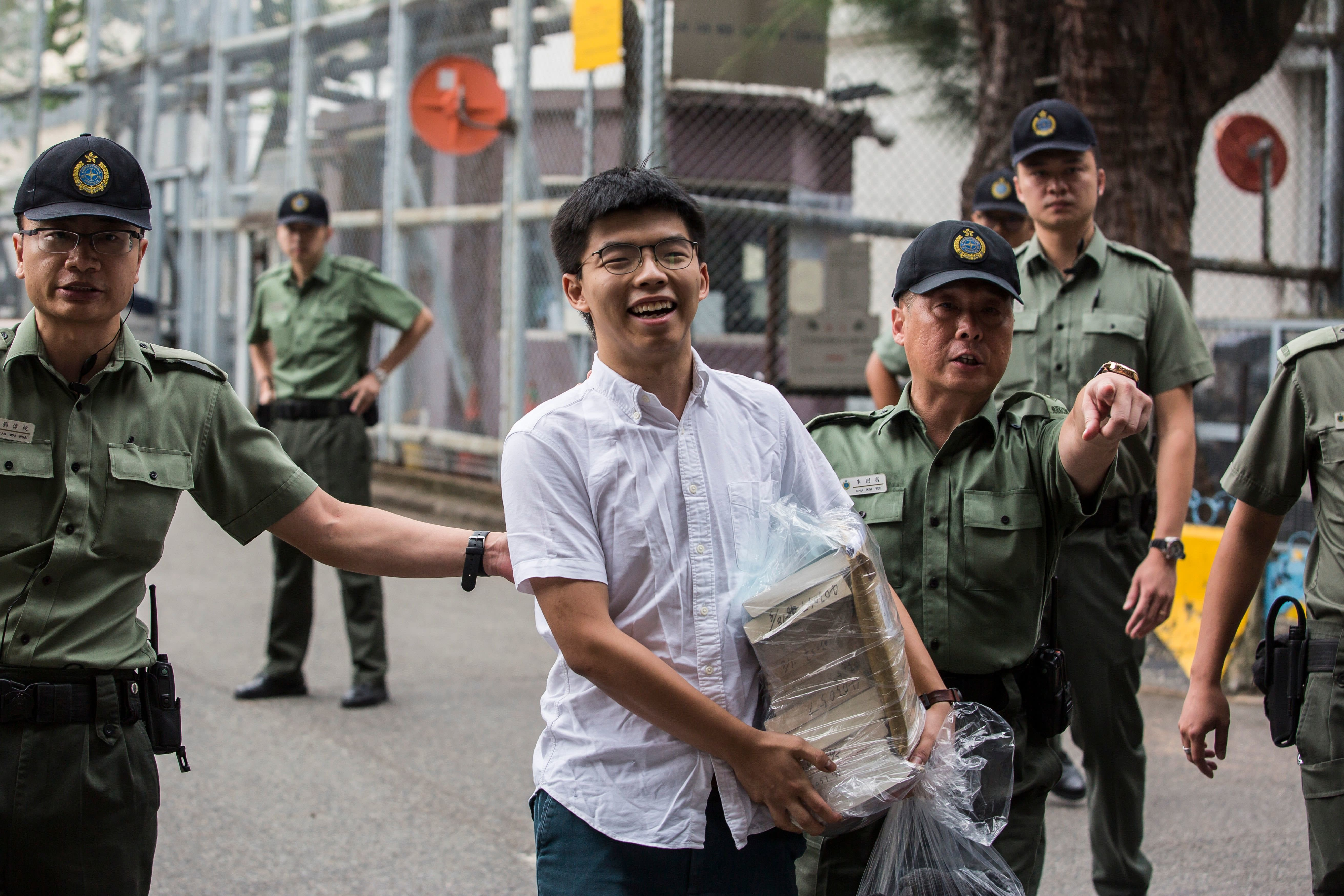 Hong Kong Freedom Campaigner Joshua Wong Released From Prison as Protesters Vow to Fight On