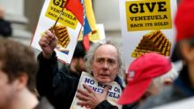 Protesta en Londres reclama al Banco de Inglaterra que devuelva el oro a Maduro