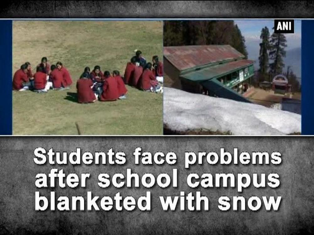 Students face problems after school campus blanketed with ...