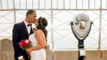 Empire State Building Celebrates Milestone 25th Year Of Valentine's Day Weddings