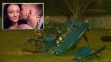 Heavily pregnant woman, 21, killed in car crash as her boyfriend clings to life