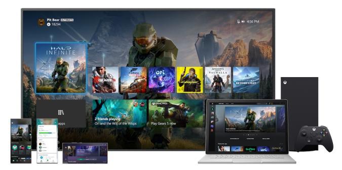 Xbox fall 2020 UI refresh
