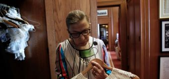 Ruth Bader Ginsburg on her equal marriage