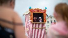'Telly just isn't the same': glorious return of English seaside entertainment