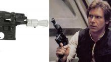 La pistola bláster de Han Solo se subasta por más de 500,000 dólares