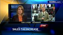 First day of new sales-tax hike under way in Sacramento
