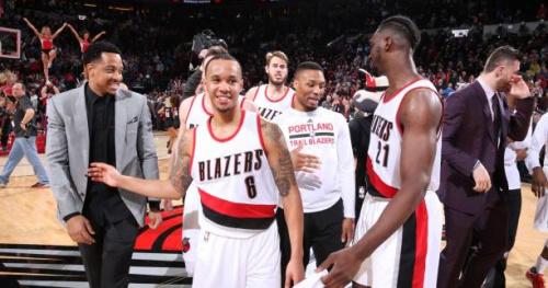 Basket - NBA - Les Blazers coulent San Antonio au buzzer