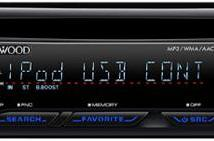 Kenwood trots out iPhone-compatible I-K50 head unit