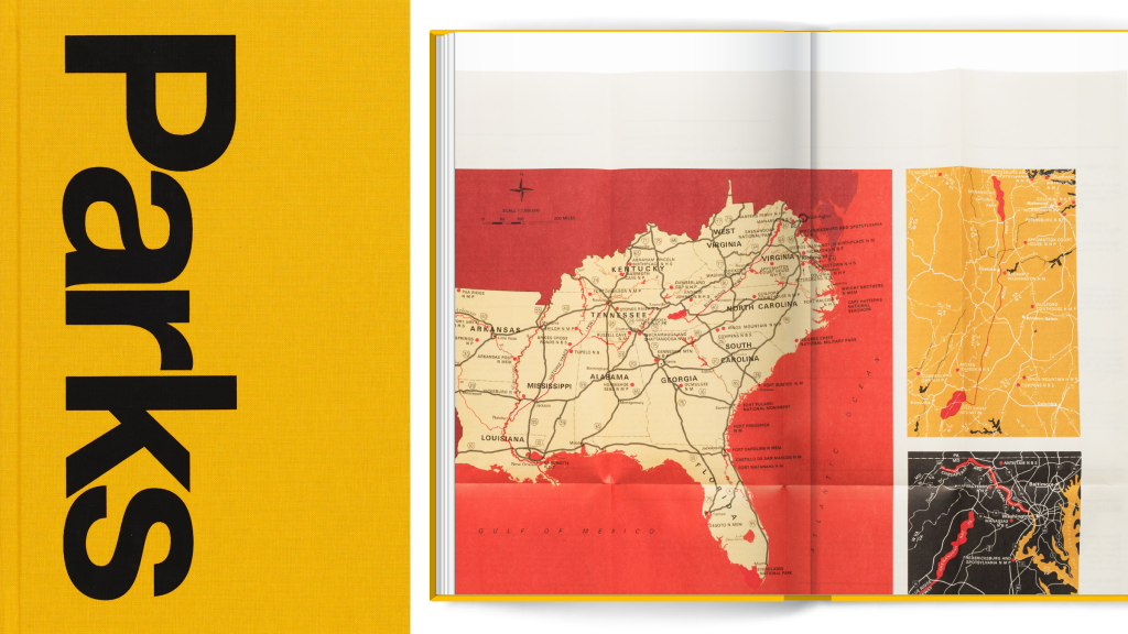 A new book celebrates the graphic design legacy of US national parks