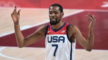 USA overwhelms Iran, bounces back from Olympic loss with 120-66 win