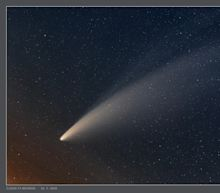 Spectacular photos capture Neowise, one of the brightest comets in decades