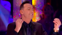 Craig hilariously channels absent Bruno on Strictly