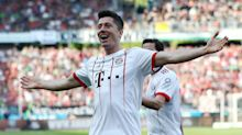 Bundesliga: Hannover 0 Bayern Munich 3 - Lewandowski breaks Bundesliga record