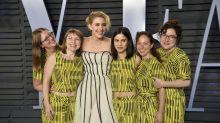 Oscars 2018: Greta Gerwigs Freundinnen in Matching Outfits
