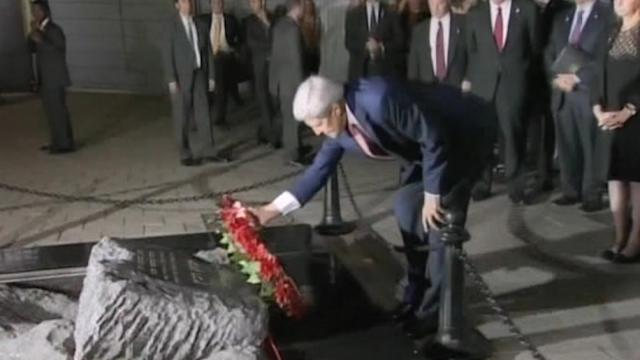 Kerry launches peace promoting visit to Israel and the Palestinian Territories