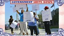 U.S. Government Closed For Business for Non-Essential Employees