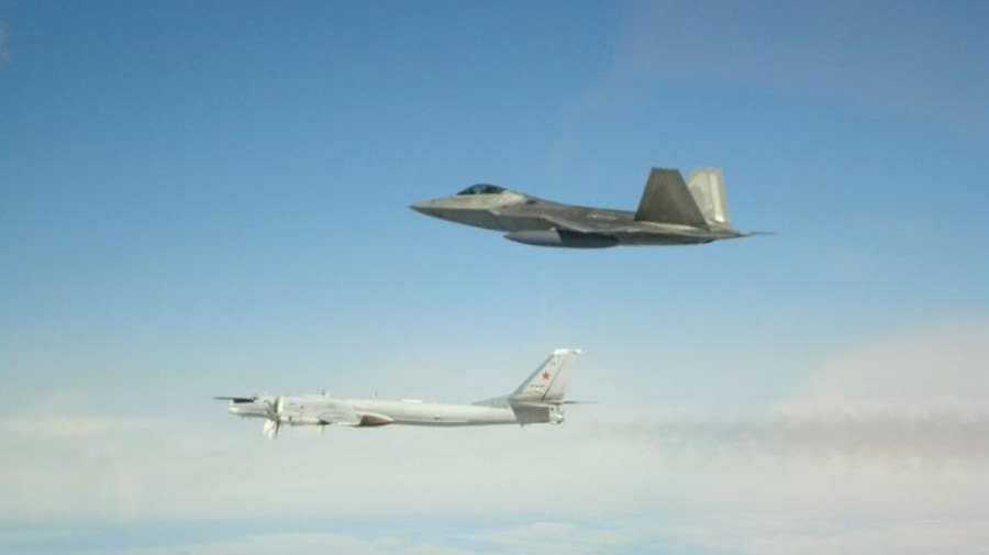 U.S. fighter jets intercept Russian bombers