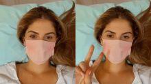 """Bárbara Evans passa por cirurgia de emergência: """"Podia ter perdido o ovário"""""""