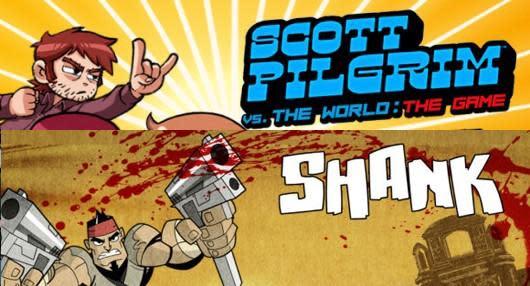 This Wednesday: Shank and Scott Pilgrim beat up XBLA