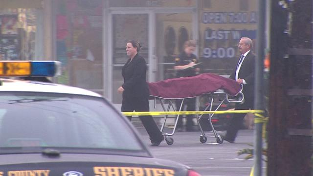 Body Found Dumped Outside Strip Mall