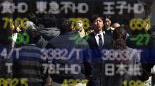 El Nikkei cae un 3,22 por ciento a media sesión