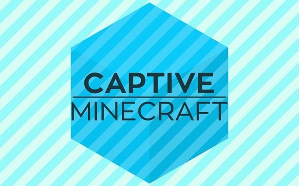 Captive Minecraft world puts baby in a corner