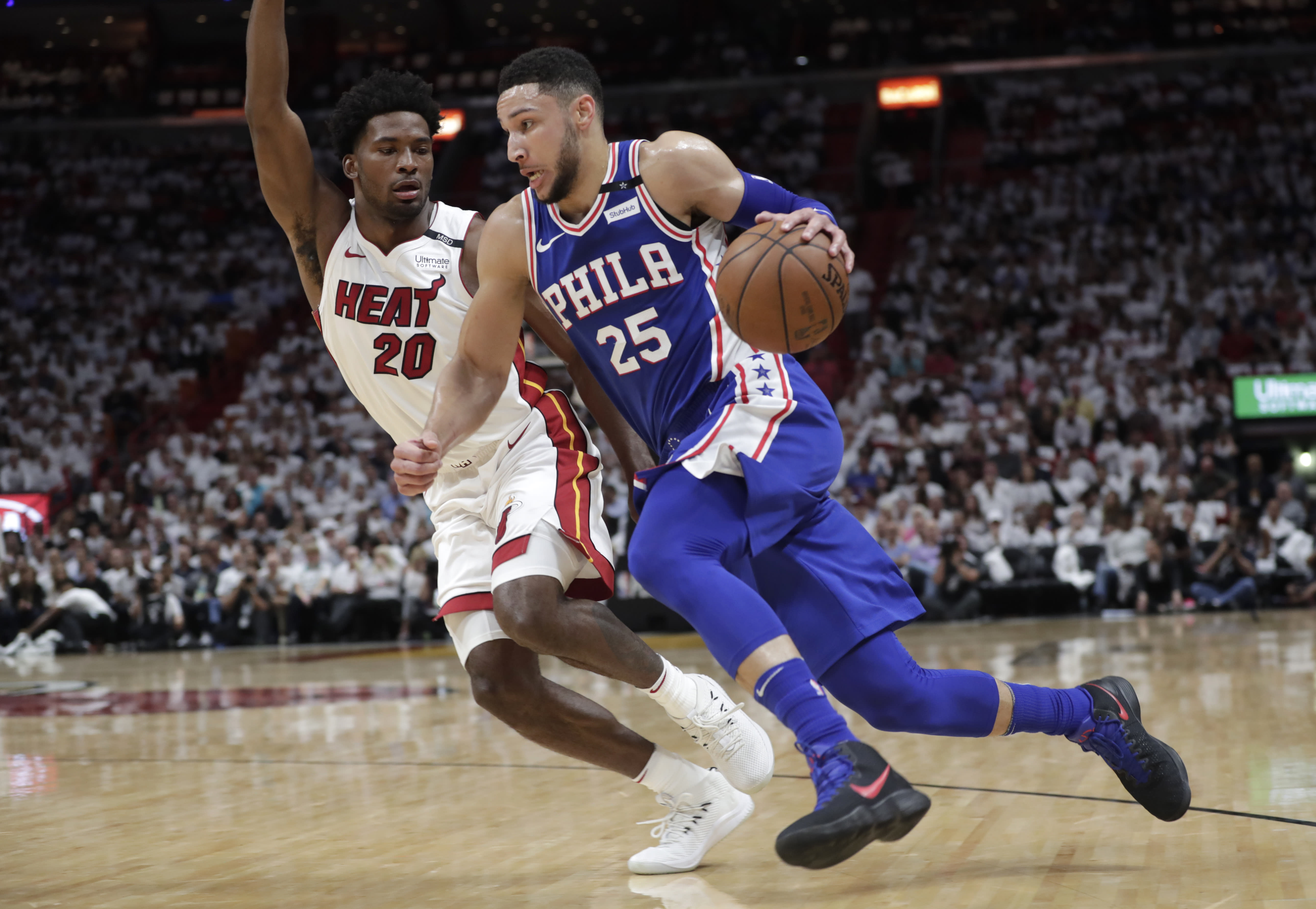 Ben Simmons records triple-double as 76ers take 3-1 lead over Heat