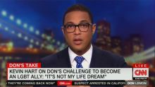Don Lemon Talks Kevin Hart: 'It Is Not His Dream to Be an Ally'