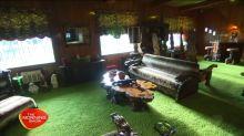 The Jungle Room of Elvis' Graceland