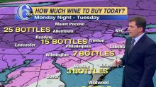 Weatherman Makes Wine Forecast