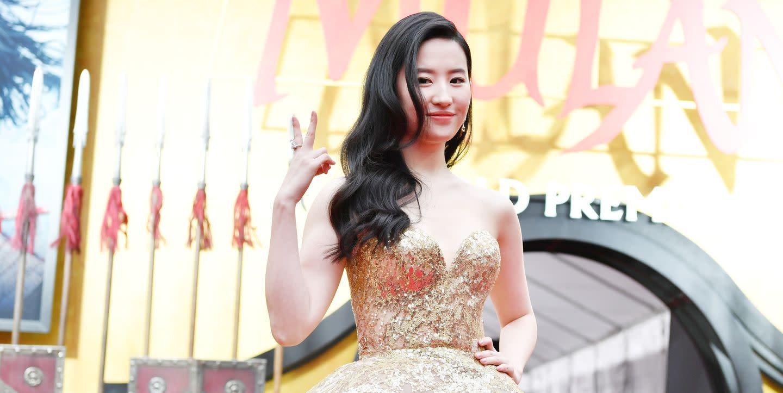Liu Yifei Looked Like A Real Life Disney Princess At The Mulan