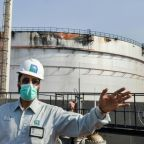 Explosion rocks Greek-operated tanker in Saudi port