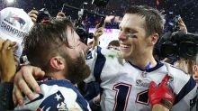 Tom Brady salutes Julian Edelman on retirement: 'I love you for all that you did'