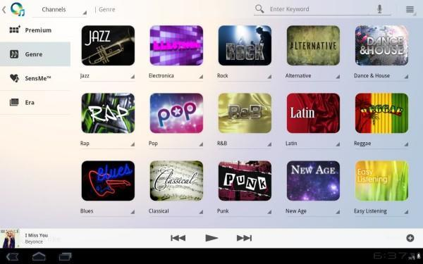 Sony Music Unlimited arrives for Android tablets, bearing gifts of unlimited music