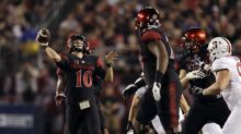San Diego State upsets No. 19 Stanford after 23-minute delay for lights