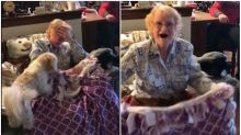Grandma with stage 4 cancer receives surprise of her life