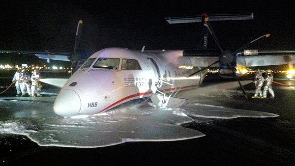 Philly to Newark flight forced to make belly landing
