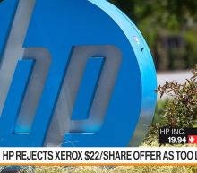HP Board Rejects Xerox Takeover Offer
