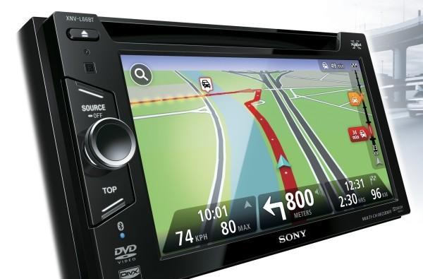 Sony's head units Xplod into the infotainment scene with TomTom GPS on in-dash screens