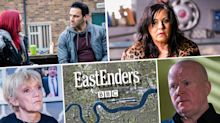 Next week on 'EastEnders': Horror crash for the Slaters, plus Sharon learns Zack's secret (spoilers)