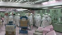 Raw: Operating Rooms at Fukushima Nuclear Plant