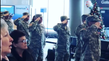 Travelers at Nashville airport brought to tears after moving tribute to children of fallen soldiers