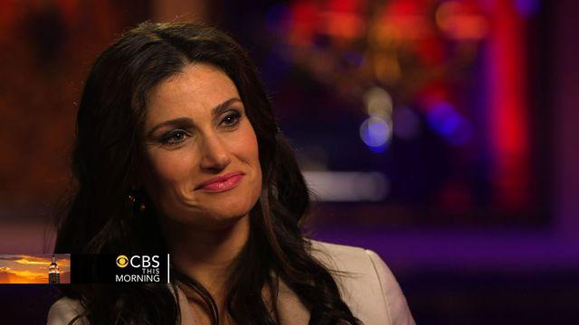 Idina Menzel on fame and quest for second Tony