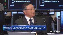 BlackBerry CEO: NAFTA renegotiation could be 'very damagi...