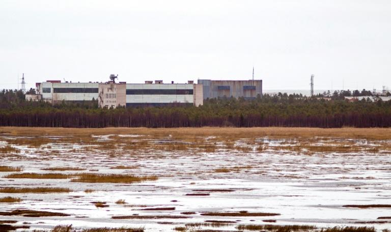 Rosatom said the accident occurred while a missile was being tested on an offshore platform in the far northern Arkhangelsk region not far from this military base (AFP Photo/-)