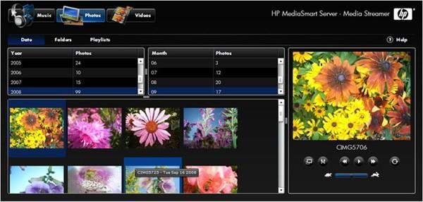 Firmware update brings file conversion, iPhone access to HP's MediaSmart ex485 / ex487