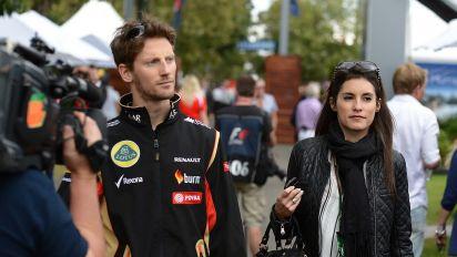 """El emocionante mensaje de la mujer de Grosjean: """"Fueron varios milagros"""""""