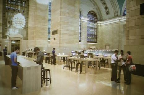 Artist rendering of NYC Grand Central Terminal Apple Store