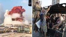 Beirut explosion: At least 70 people killed in 'real horror show'