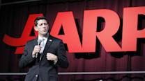 Paul Ryan booed at AARP conference